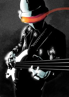 Daft Punk illustration by Matt Taylor #design #illustration #art