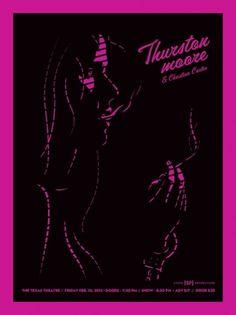 Thurston Tour Updates - Sonic Youth Gossip #thurston #poster #moore