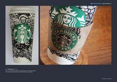09_ Starbucks on the Behance Network #coffee #illustration #design #starbucks