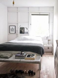 Bedroom on Apartment Therapy #bedroom #interior