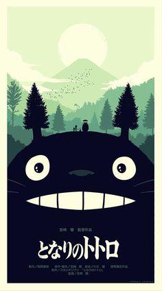 Studio Ghibli OLLY MOSS DOT COM #movie #retro #poster