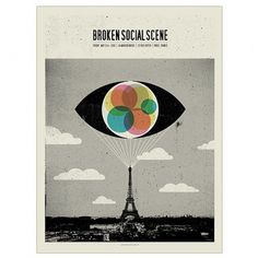 Band Job :: Music Art & Awesome Design :: Broken Social Scene _ La Maroquinerie _ Paris