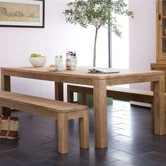 Lekker Home :: Ethnicraft NV :: Teak Kubus Tables :: 121019 #table #grain #bench