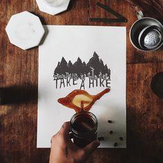 Take a hike - by Christian Watson