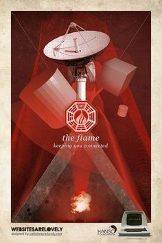 All sizes | The Flame | Flickr - Photo Sharing! #lost #poster