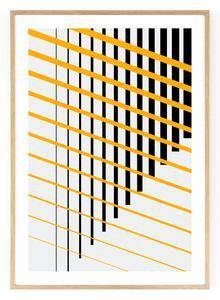 Outlined.cc Limited Edition Artwork Striped #5 striped art print design artprint wallart