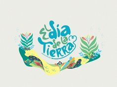Festival Dia de la Tierra on the Behance Network #logo #illustration #branding