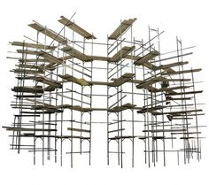 Pruned: Scaffoldings #scheffknecht #structure #scaffolding #architecture #liddy #art