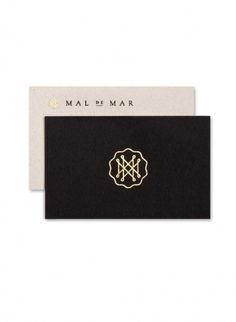 Mal de Mar. on the Behance Network #branding #design #graphic #emblem #seal #logo