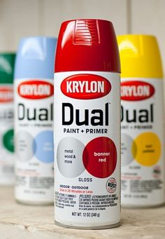 Krylon Dual : Matt Travaille : Graphic Design | Minneapolis #red #spray #packaging #graffiti #travaille #paint #krylon #can