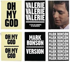 Mark Ronson : Village Green #music #print #campaign