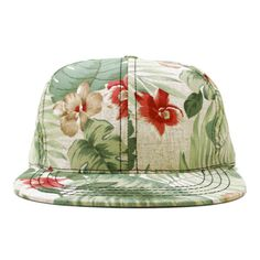 LOST WORLD #flower #print #hat #floral