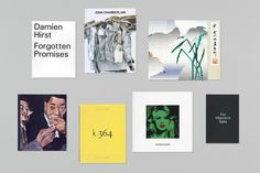 Gagosian Gallery – Catalogues 2012 | Publication | Graphic Thought Facility #book #typography