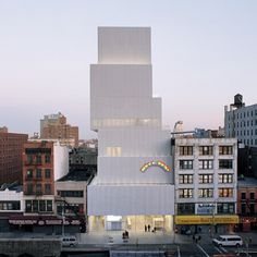 Dezeen » Blog Archive » New Museum by SANAA opens in New York #architecture #museum