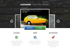 Landing #page #website #cars #web #landing