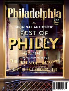 Cover of the Day: Friday Edition #philadelphia #philly #of #the #cover #best #day #window #typography