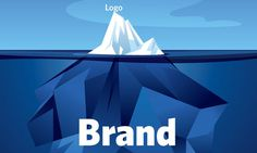 Brands. Identities. Logos. What's the difference? The word logo is short for logotype—a graphic representation of a brand. So, essential #iceberg #brand #tips #guide