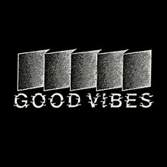 Good Vibes Italian record label #retro #good #label #record #vibes #logo #typo #typography