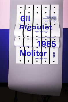 unquoted-sheets: Gil Rigoulet Molitor 1985—2015 www.the-m.fr Design©les Graphiquants 2014 #gg