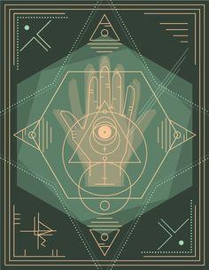 El ojo que todo lo ve on Behance #poster