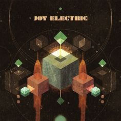 Joy Electric: My Grandfather, The Cubist » Sleevage » Music, Art, Design. #album #shapes #space #cover #art #joy #electronic