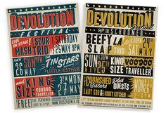 Devolution posters #illustration #design #retro #poster