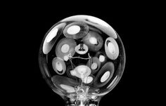 Nothing Relevant #contrast #photography #lights #warp #light bulb #stark #invention