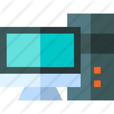 See more icon inspiration related to pc, tv, personal computer, electronics, screen, monitor, technology and computer on Flaticon.
