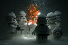 All sizes | Stormtroopers' Perpetual Winter | Flickr - Photo Sharing! #lego #wars #snow #star #stormtroopers #winter