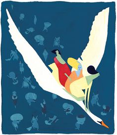 Davis Baffler LeanOn 1.2 #illustration #swan #flight