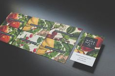 Whoa Nelly Catering Branding & Website on Behance #card #brand #business