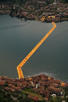 The Floating Piers – A Walkway Across the Water of Lake Iseo