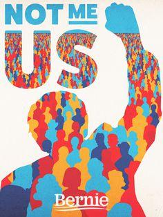 #feelthebern #bernie #sanders #poster #politics #america #people