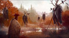 Joseph Sanabria: Sacred Grounds #illustration #painting