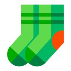 See more icon inspiration related to sock, clothing, feet, socks, winter, fashion and clothes on Flaticon.