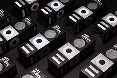 Minimal Packaging – Allsorts Black & White by Bond