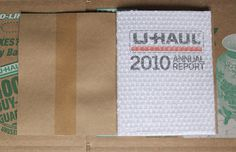 UHAUL // Annual Report 2010 #bubble wrap #uhaul