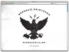 Ryan Bren #logo #printing #screen