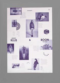 mindthat:Baster:Â KLIJS & BOON #grid #poster