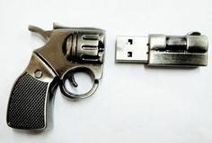 (1) Tumblr #usb #memory #gun #design #product #photography #flashdrive