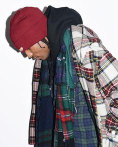 A$AP Rocky plaid photograph