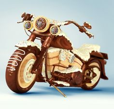 Stuff made of Chocolate on the Behance Network #advertising