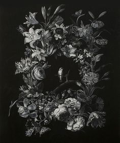 YASLY | Blog Of Man #tone #drawing #floral