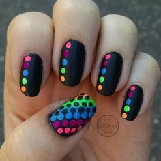 Adorable Polka Dots Nail Designs