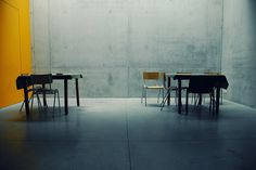 All sizes | abstract room | Flickr - Photo Sharing! #interior #concrete #chairs