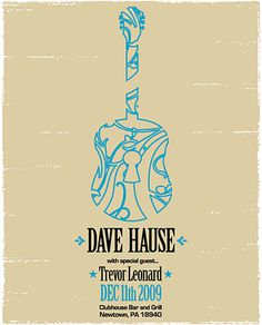 GigPosters.com - Dave Hause #gig #poster