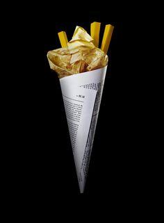 Daniel Carlsten Paper Food #paper #food