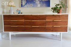 Mid Century Credenza Restored #furniture #mid #credenza #century