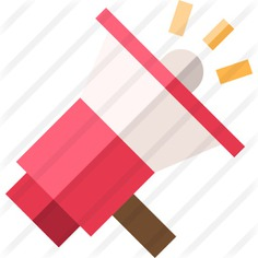 See more icon inspiration related to promote, promotion, announcer, announcement, shout, bullhorn, loudspeaker, electronics, megaphone and communications on Flaticon.