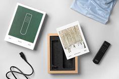 scandinavian, packaging, natural, neutral, green, wood, box, audio, sound